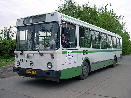 Маршрут автобуса 101 на карте.