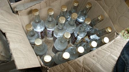 За 11 месяцев 2013 года сотрудниками МО МВД России «Рубцовский» изъято из незаконного оборота 9780 литров алкогольной продукции