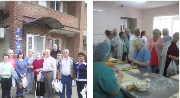 Бугурусланские пенсионеры посетили пекарню